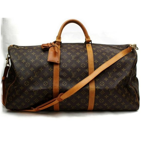 Louis Vuitton Handbags - Louis Vuitton 872177 Monogram Bandouliere Keepall